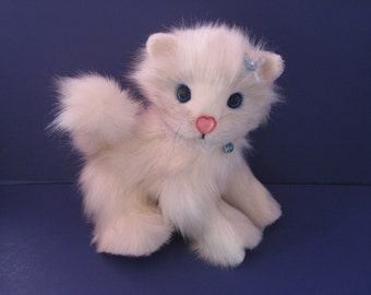 Snowflake, a Kitty by Spring Blossom Bears and Bunnies