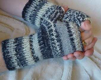 Fingerless Wollen Warmers / Wrist Warmers