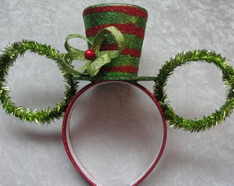 Holiday Hat Mickey Ears