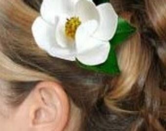 Magnolia Hair Clip