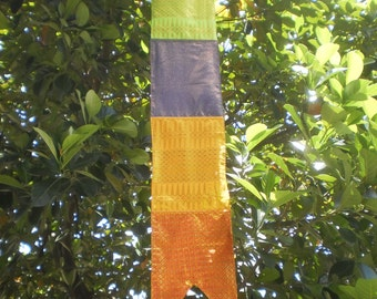 Tribal Textile Hanging Decoration, Tung Decoration, Thai Decoration, Textile Mobile