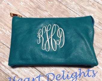 Personalized Crossbody Bag Purse Wristlet Ladies Teen Girls Monogrammed Gift Bridesmaids