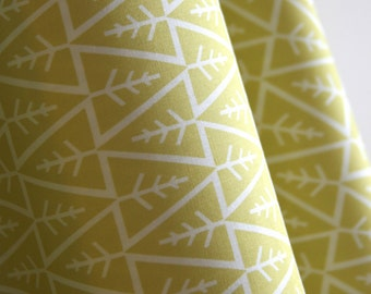 "Organic ""Florette"" Fabric by designer Monaluna from the Anya Collection - ONE HALF YARD Cut"