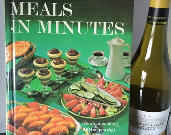 1965 Better Homes and Gardens Meals in Minutes Cookbook