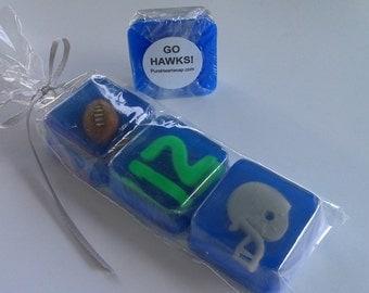 Custom Football Team Soap Giftset
