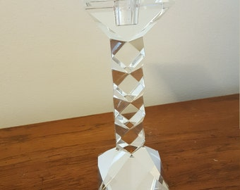 Oleg cassini crystal candle stick holder