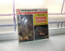 3 Vintage Viewmaster Reels of Carlsbad Caverns 1970s