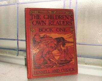 Vintage 1929 Children's Book The Children's Own Readers Book One Basic Reader