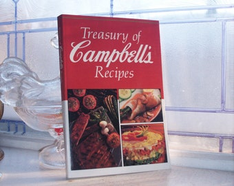 Vintage Cookbook Treasury of Campbell's Recipes 1991