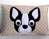 Decorative Pillow - Boston Terrier