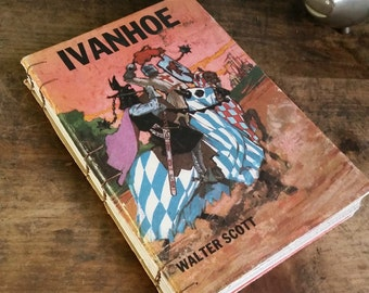 Vintage Book Cover Journal - Ivanhoe - 5.5 x 8 by The Orange Windmill on Etsy 1674