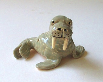 Walrus Clay Whistle