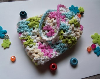 Crochet Soap Saver. Handmade Crochet Soap Saver
