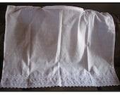 White Eyelet Nursing Cover reserved For Aurelie