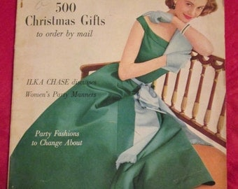 1955 November GLAMOUR Fashion MAGAZINE