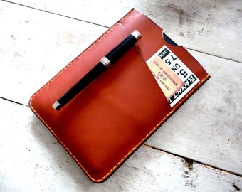 Leather Kindle Cover. Leather Sleeve. Kindle Cover. Leather Kindle Sleeve. Free Personalisation.