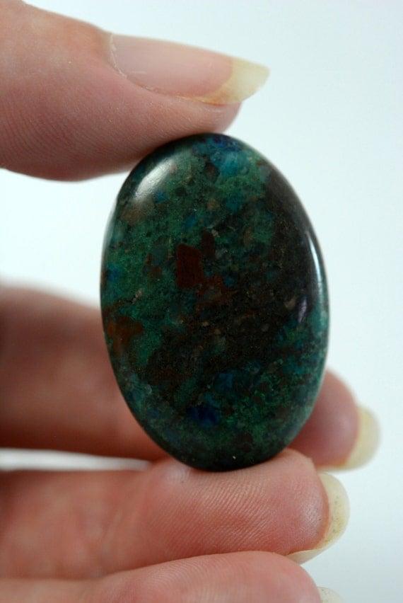 25ct genuine eilat gemstone cabochon israel