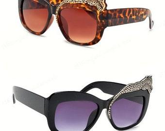 Leopard Sunglasses - 2 Colors