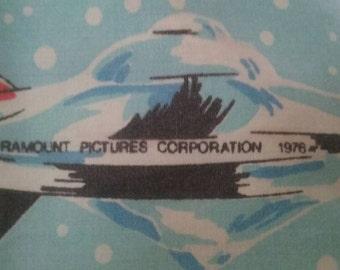 Vintage Classic Star Trek pillowcase 1979 Captain Kirk Mr. Spock U.S.S. Enterprise Sci-Fi Space Collectible