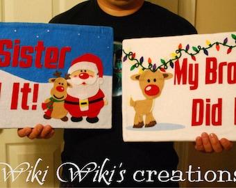 Large Plush Sign Photography Prop- Custom Words