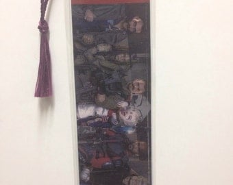 Upcycled Suicide Squad Comic Book Bookmark