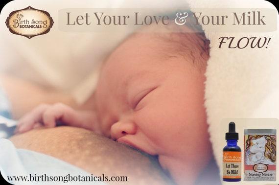 Fenugreek Breastfeeding Supplement - Let There Be Milk! 1oz