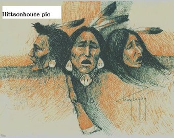 Navajo Painting by Tony Begay - Fine Art Photography
