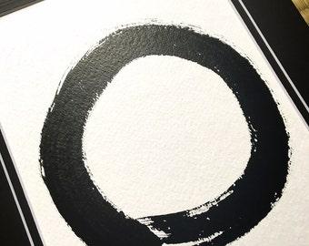 Circle of life / Enso - Japanese Calligraphy Art