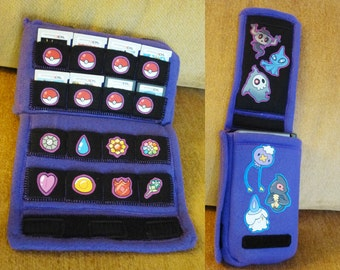 Case for DS/3DS/XL + 16 Games - One Size Fits All! Ghost Pokemon Version