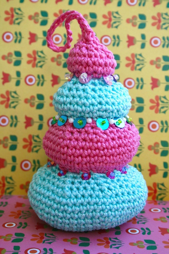 Zelda Amigurumi Patterns : Items similar to Crochet pattern, amigurumi christmas tree ...