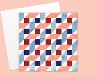 Bauhaus Greeting card or greeting card set