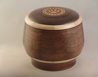 Walnut & Maple Pet Urn # 713-55