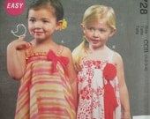 McCall's 6728-- Toddlers'/Children's  Dress   Sizes 1-3