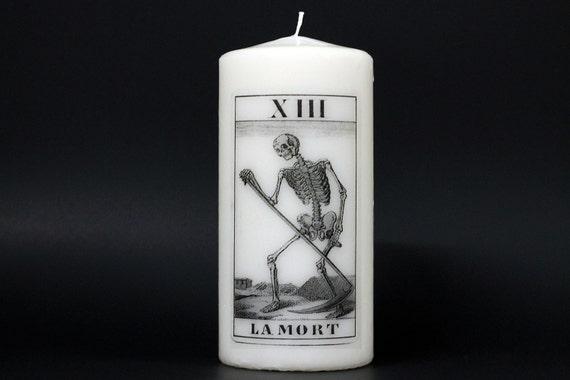 Tarot Candle - Death Card - Pillar Candle