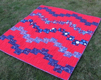 Americana Baby Quilt or Small Lap