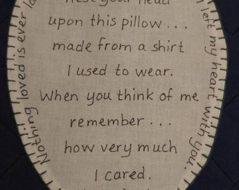 Individual Heart Patch for Memory Pillow