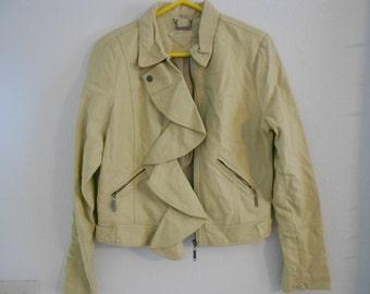 Vintage faux leather jacket.  Ladies large.  Jou Jou.