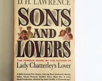 Sons and Lovers By D.H. Lawrence VTG Paperback
