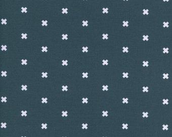 Cotton + Steel - Basics - XOXO in Sea Monster - 5001-015 - 1/2 Yard