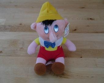 Vintage Pinocchio Stuffed Plush