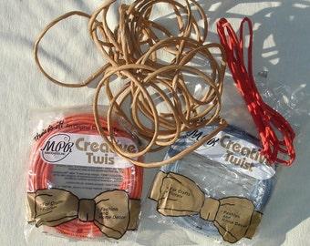 Random Paper Crafting Ribbon - Twisted Paper Ribbon