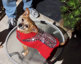 BLING doggie DIVA coat