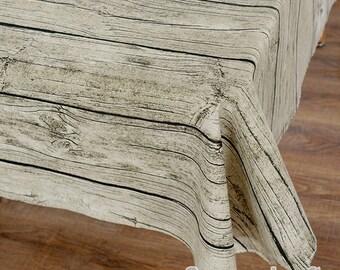 Linen Fabric, Wood Grain Linen Cotton Blend Fabric, Tree Bark Fabric Nature For Bag Photon Background- 1/2 Yard (QT764)