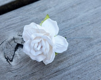 Bridal Party Hairpins, Bridesmaid Hair Flower Bobby Pin, 3pcs