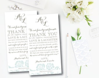 East Ivy Suite | Thank You Card | Printable or Printed by Darby Cards