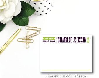 Nashville Collection Stationery
