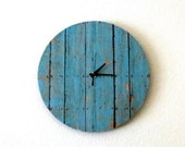 Sale, Cottage Chic Clock, Decor and Housewares, Housewarming Gift, Home and Living, Shabby Chic, Home Decor, Unique Gift Idea