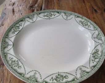 Great universal vintage china serving plate