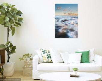 Beach Decor home decor large wall art beach art minimalist palm trees