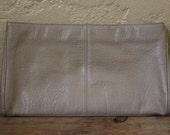 Cream Clutch Handbag